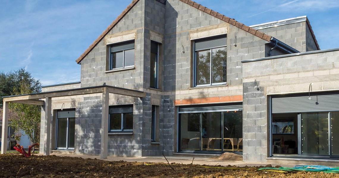 Ravalement de fa ade pour maison - Renover facade de maison ...